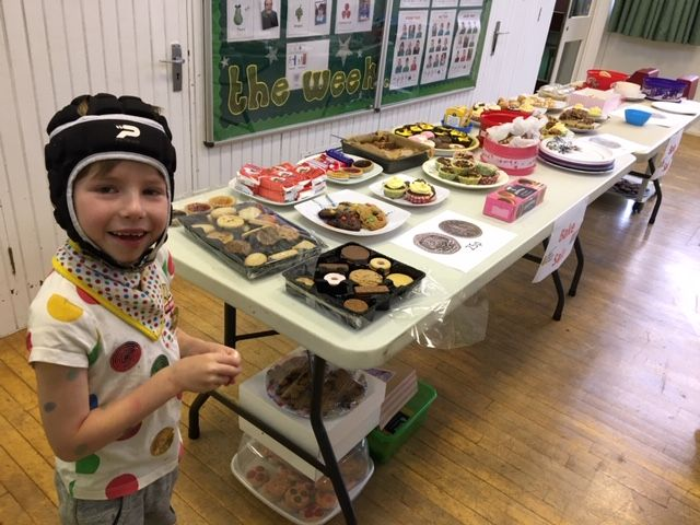Children in Need Cake stall Nov 2018