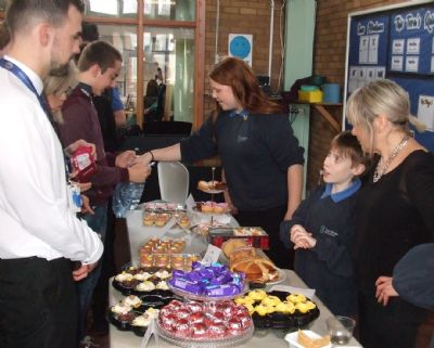 7T cake stall for Guide Dogs for the Blind