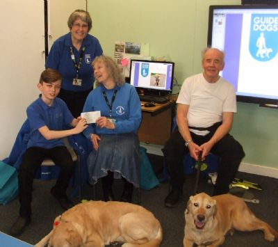 Guide Dogs for the Blind in Priory School 7T