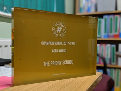 NCS Champion School 2017 2018 Gold Award