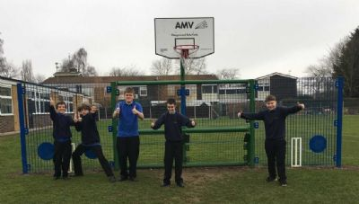 MUGA Safer Sport in school
